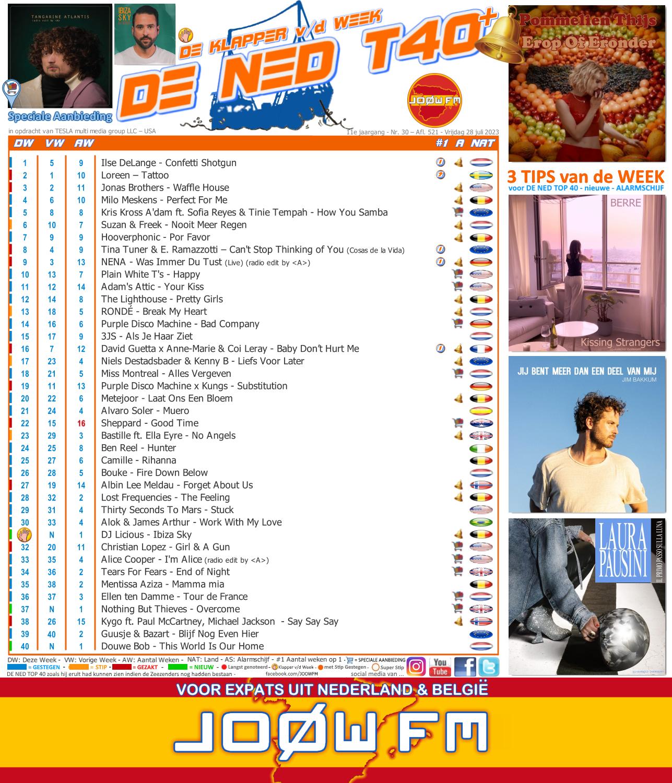 DE NED TOP 40